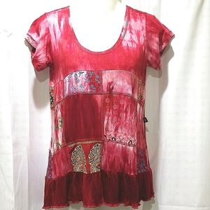 Banjara short sleeve tee Size L